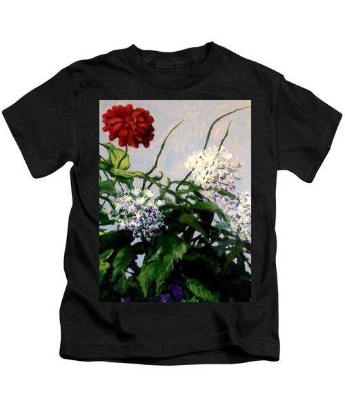 Summer Flowers 1 Kids T-Shirt