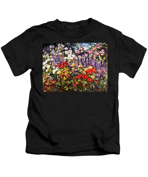 Summer Garden II Kids T-Shirt
