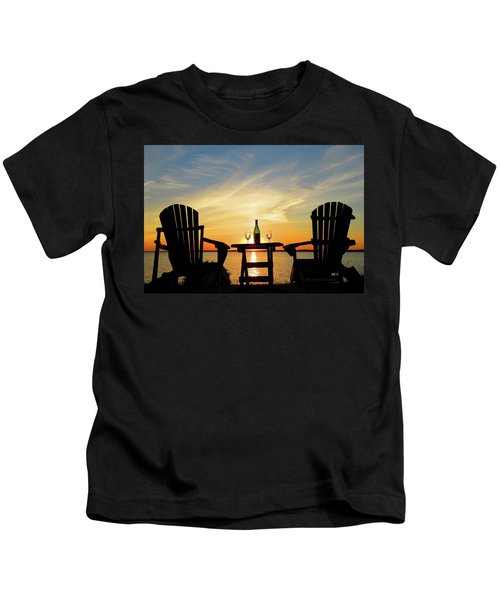 Summer In The River Kids T-Shirt