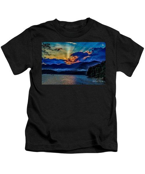 Summer Sundown Kids T-Shirt
