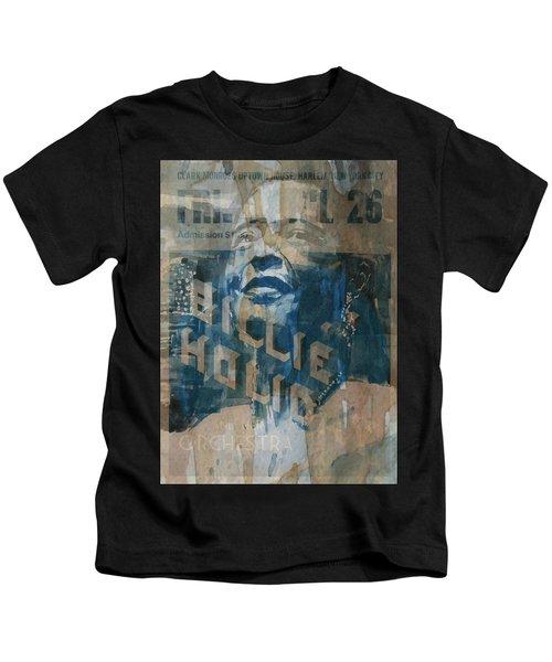 Summertime Kids T-Shirt by Paul Lovering