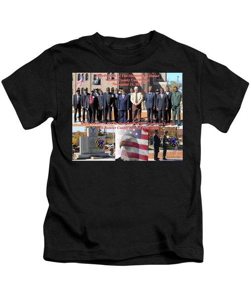 Sumter County Memorial Of Honor Kids T-Shirt