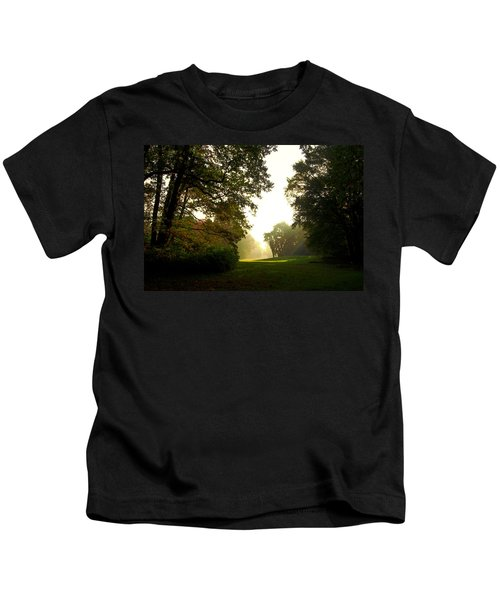 Sun Beams In The Distance Kids T-Shirt