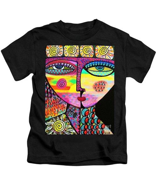 Sun Goddess Kids T-Shirt