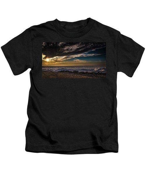 Sun Peeks Through Kids T-Shirt