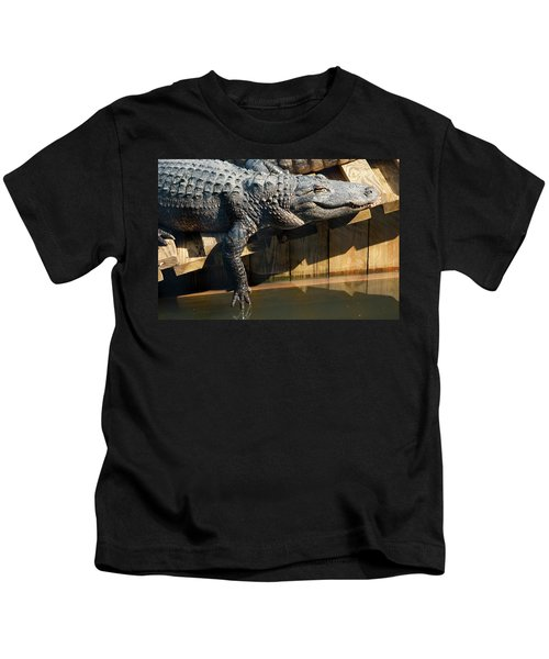 Sunbathing Gator Kids T-Shirt