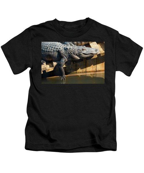 Sunbathing Gator Kids T-Shirt