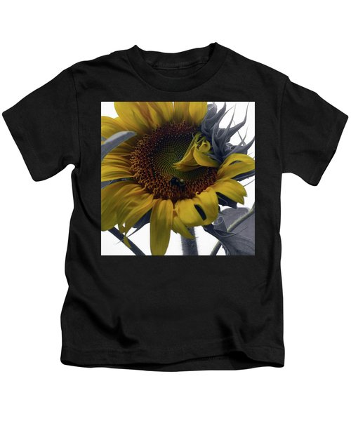 Sunflower Bee Kids T-Shirt