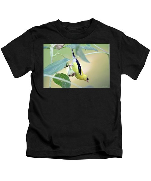 Sunflower Seed Snack Kids T-Shirt