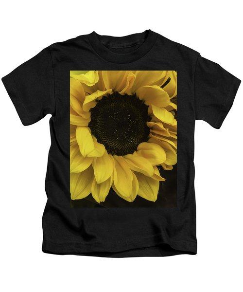 Sunflower Up Close Kids T-Shirt
