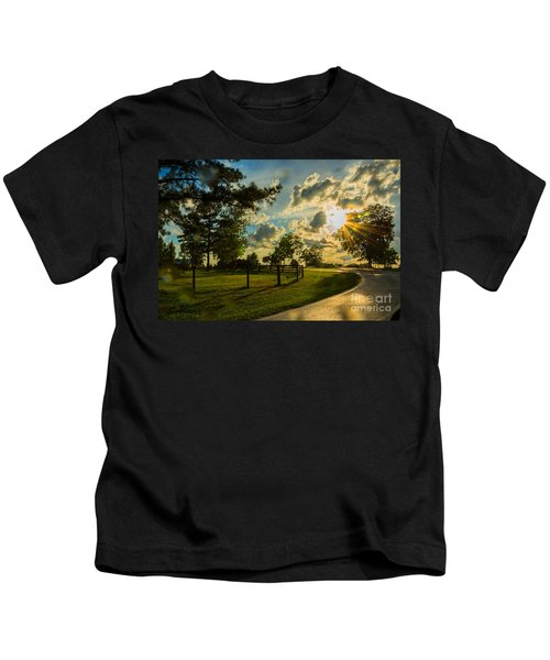 Sunlight Around The Corner Kids T-Shirt