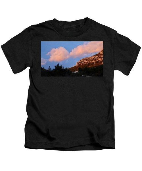 Sunlit Path Kids T-Shirt