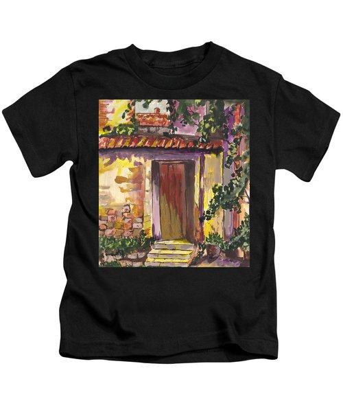 Sunny Doorway Kids T-Shirt