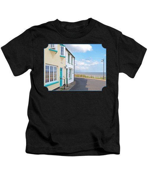 Sunny Outlook - Southwold Seafront Kids T-Shirt