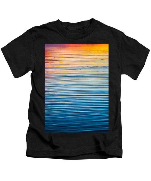 Sunrise Abstract  Kids T-Shirt
