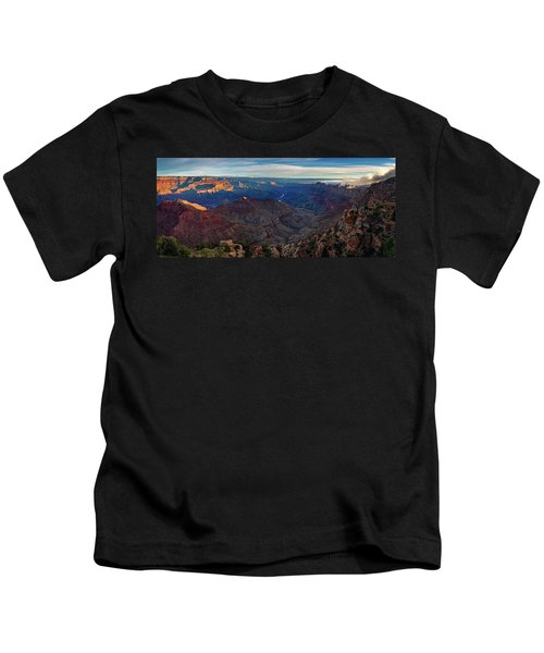 Sunrise At Navajo Point Kids T-Shirt