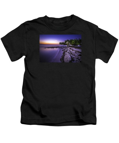 End Of The Beach Kids T-Shirt