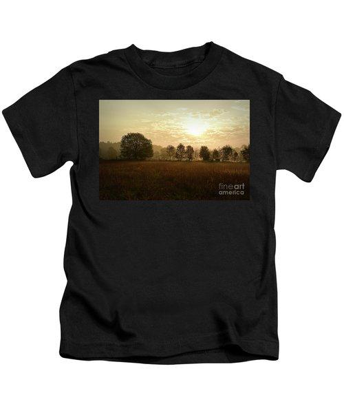 Sunrise Autumn Equinox 2017 Kids T-Shirt