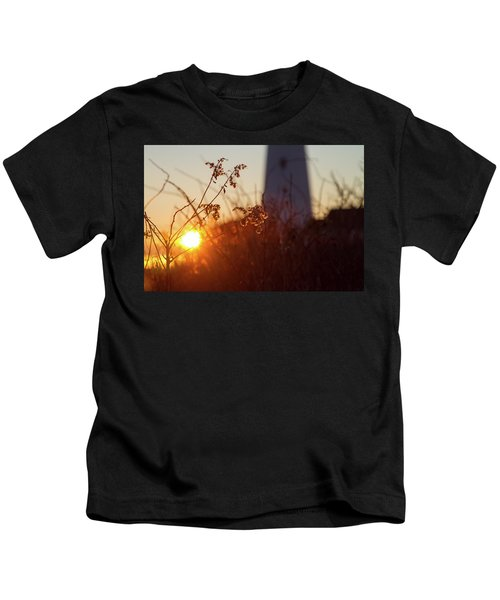 Sunrise Backlight Kids T-Shirt