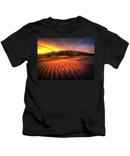 Sunrise-death Valley Kids T-Shirt