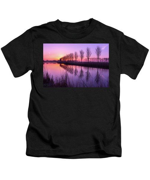 Sunrise In Holland Kids T-Shirt