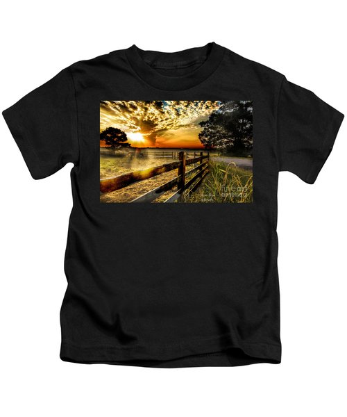 Sunrise In Summer Kids T-Shirt