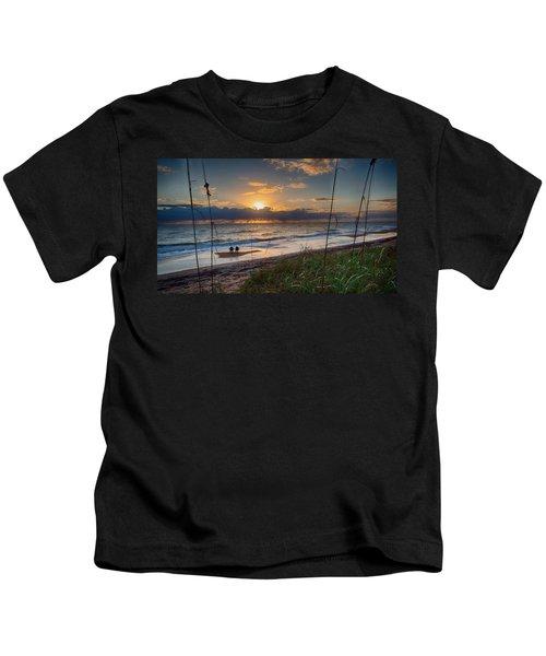 Sunrise Love Kids T-Shirt