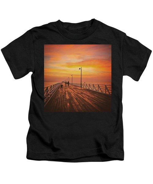 Sunrise Lovers Kids T-Shirt