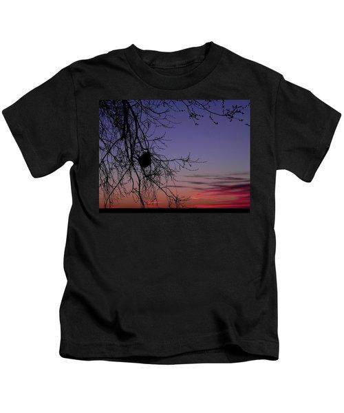 Sunrise On The Colorado Plains Kids T-Shirt