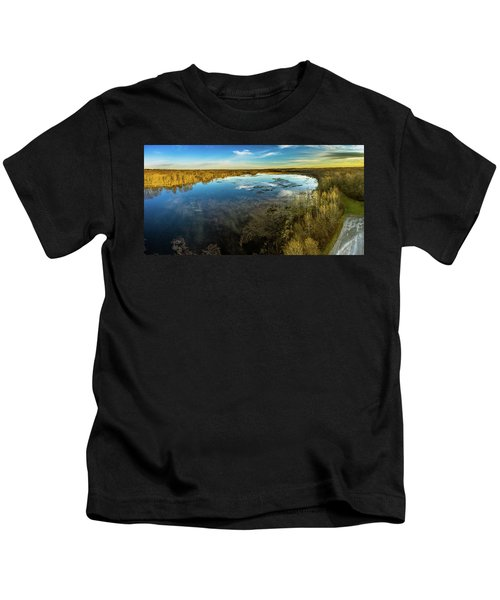 Sunrise On The Lake Kids T-Shirt
