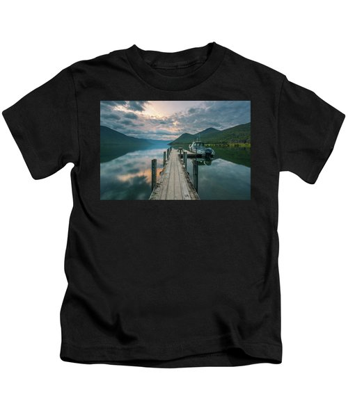 Sunrise Over Lake Rotoroa Kids T-Shirt