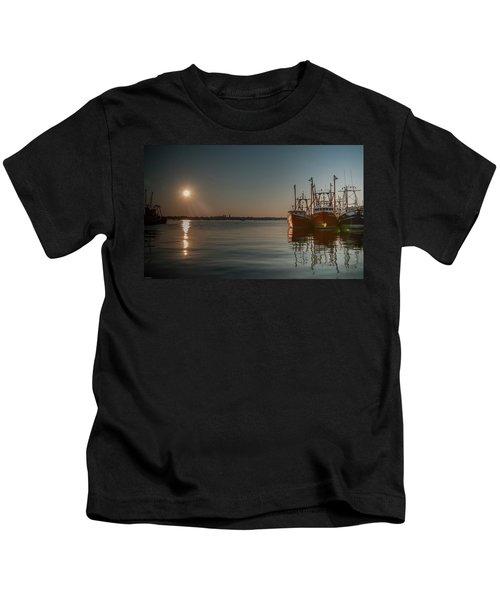 Sunrise Over New Bedford, Kids T-Shirt