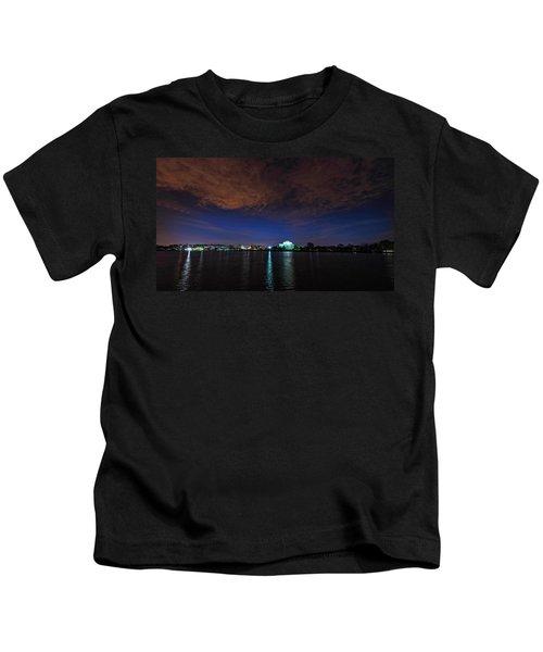 Sunrise Over The Tidal Basin Kids T-Shirt