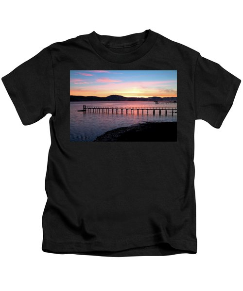 Sunrise Over Tomales Bay Kids T-Shirt