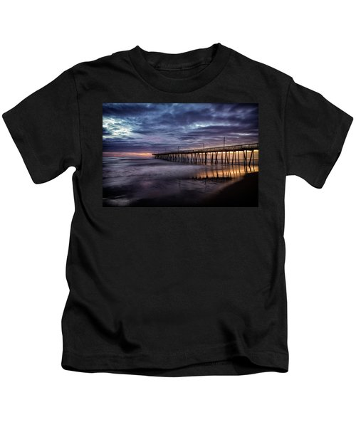 Sunrise Pier Kids T-Shirt