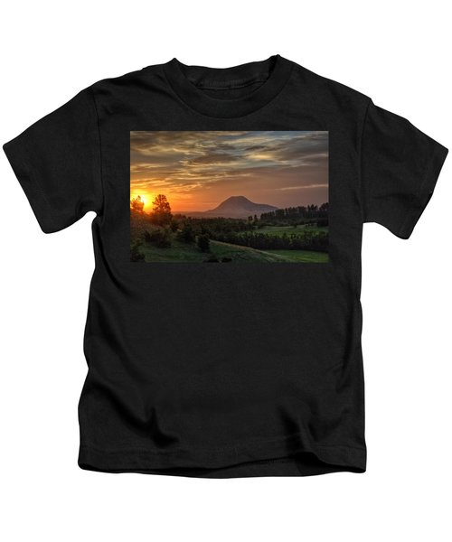 Sunrise Serenity  Kids T-Shirt