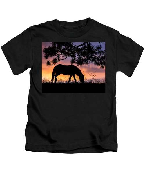 Sunrise Silhouette Kids T-Shirt