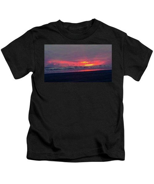 Sunset #1 Kids T-Shirt