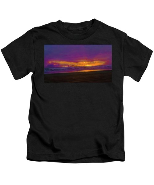 Sunset #3 Kids T-Shirt