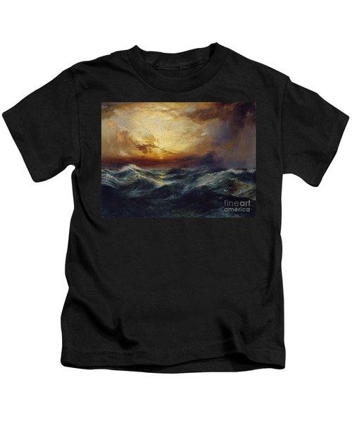 Sunset After A Storm Kids T-Shirt