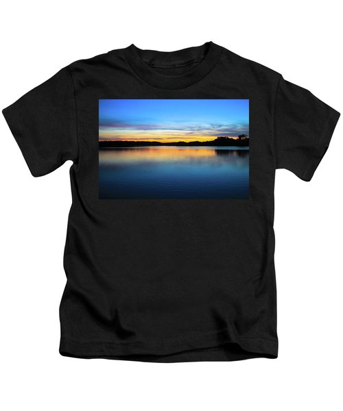 Sunset At Stumpy Lake Virginia Beach Kids T-Shirt
