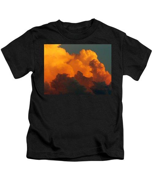 Sunset Clouds Kids T-Shirt