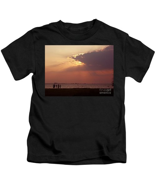 Sunset Gathering Kids T-Shirt