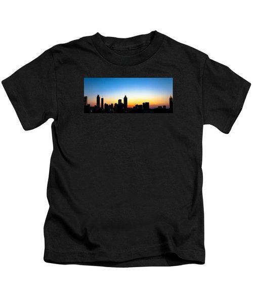 Sunset In Atlaanta Kids T-Shirt