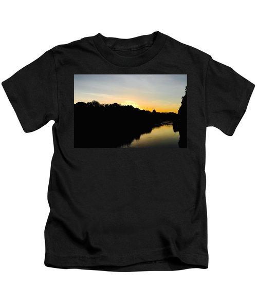 Sunset In Rome Kids T-Shirt