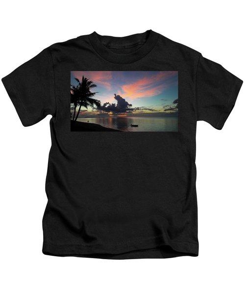 Sunset Lovers Kids T-Shirt