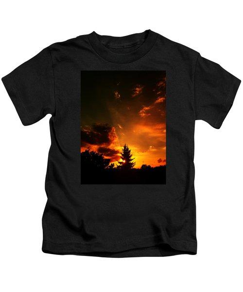 Sunset Madness Kids T-Shirt