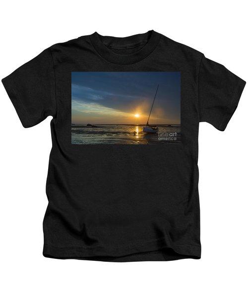 Sunset On Cape Cod Kids T-Shirt