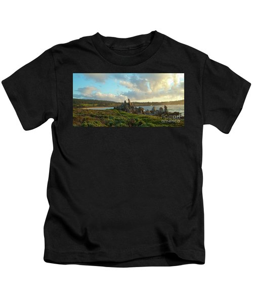 Sunset On The Pacific Ocean  Kids T-Shirt