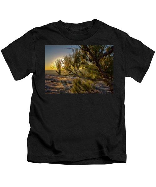 Sunset Pines Kids T-Shirt